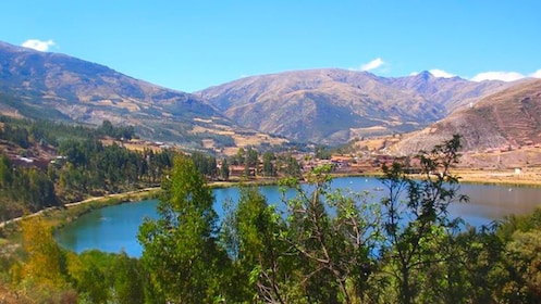 Lake in the Southern valley of Cusco Peru
