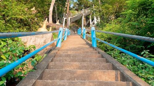 Stairs in Krabi