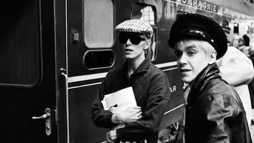 David Bowie and Iggy Pop