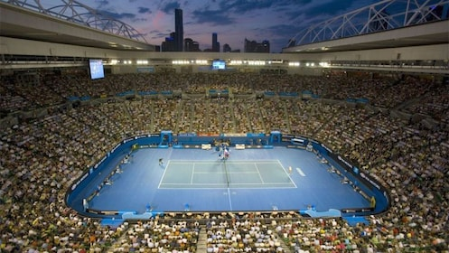 Tennis match in Melbourne