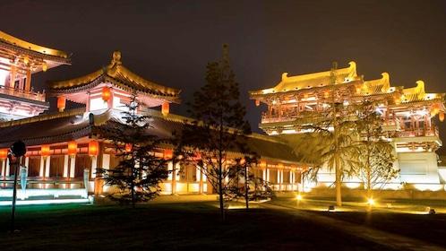 Beautiful night view of Xi'an