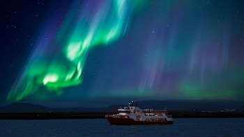 Faxa Bay Cruise in Search of the Northern Lights