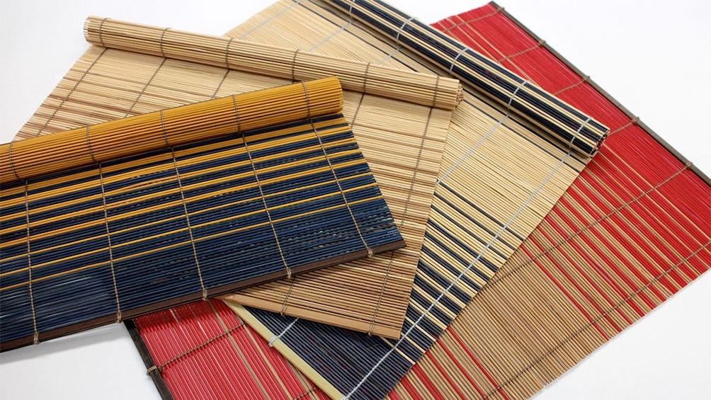 Kyoto style Kasumi Bamboo Mat Making