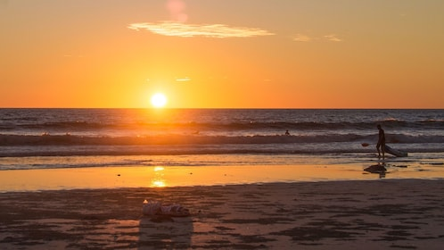 Sunset on Cable Beach in Broome