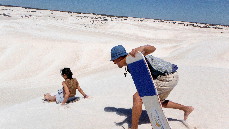Pinnacles & Sandboarding Tour