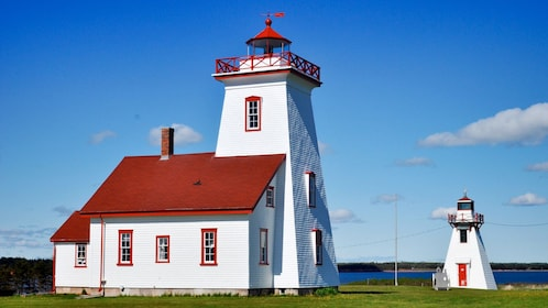 Close view of the Lighthouse in Charlottetown