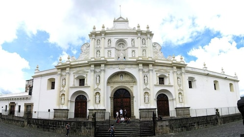 Exterior of building in Guatemala City