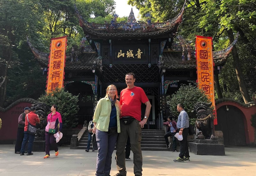 Show item 1 of 10. Chengdu Private Tour of Panda Hometown and Taoist Mountain