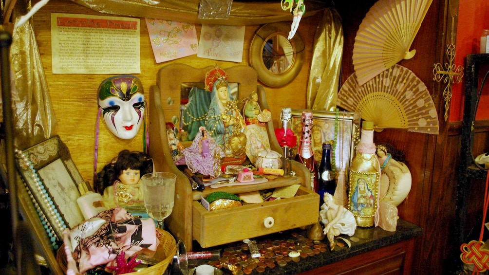 Show item 2 of 5. Voodoo altar in New Orleans