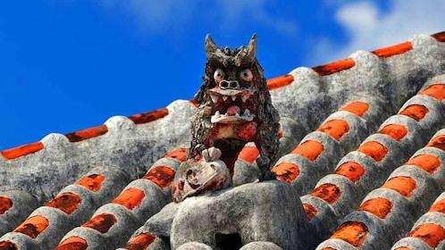 Japanese Gargoyle on a roof