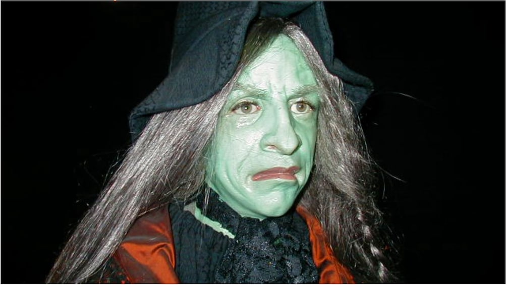 Show item 2 of 5. A woman dressed as a Witch