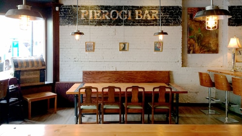 Pierogi Bar in Victoria BC