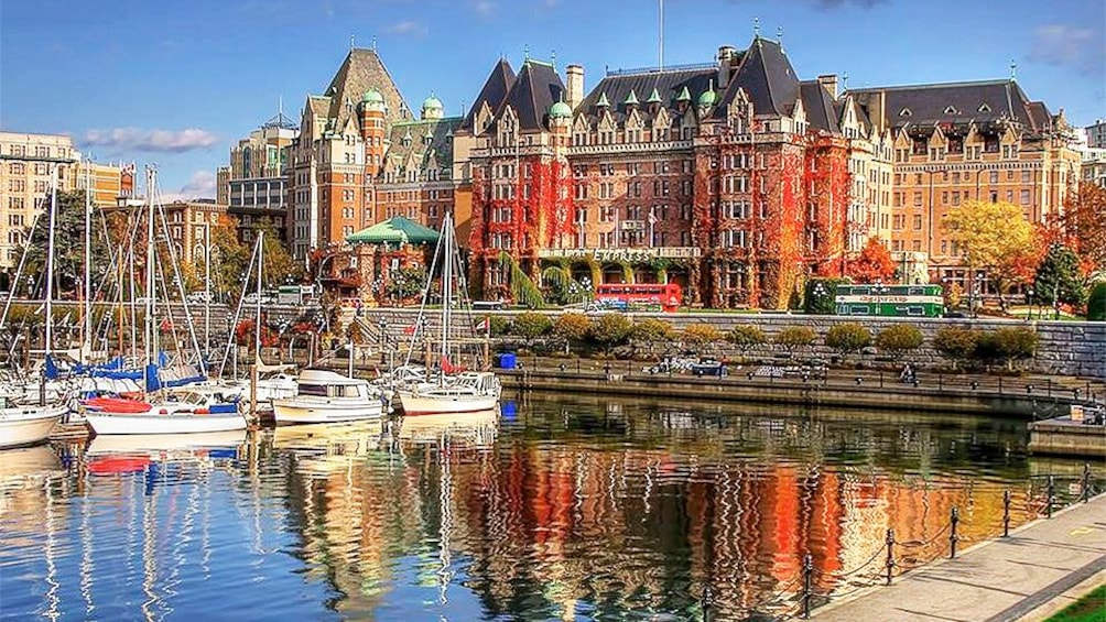 Show item 1 of 5. Scenic view on the Food and History Tour in Victoria BC