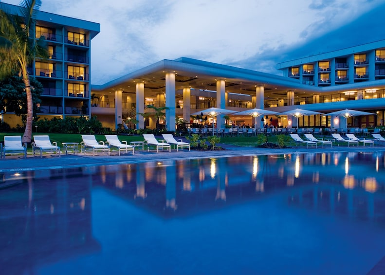 The Sunset Luau at the Waikoloa Beach Marriott Resort