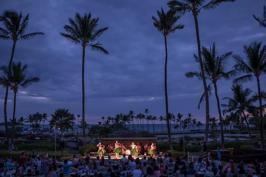 Show item 5 of 8. The Sunset Luau at the Waikoloa Beach Marriott Resort
