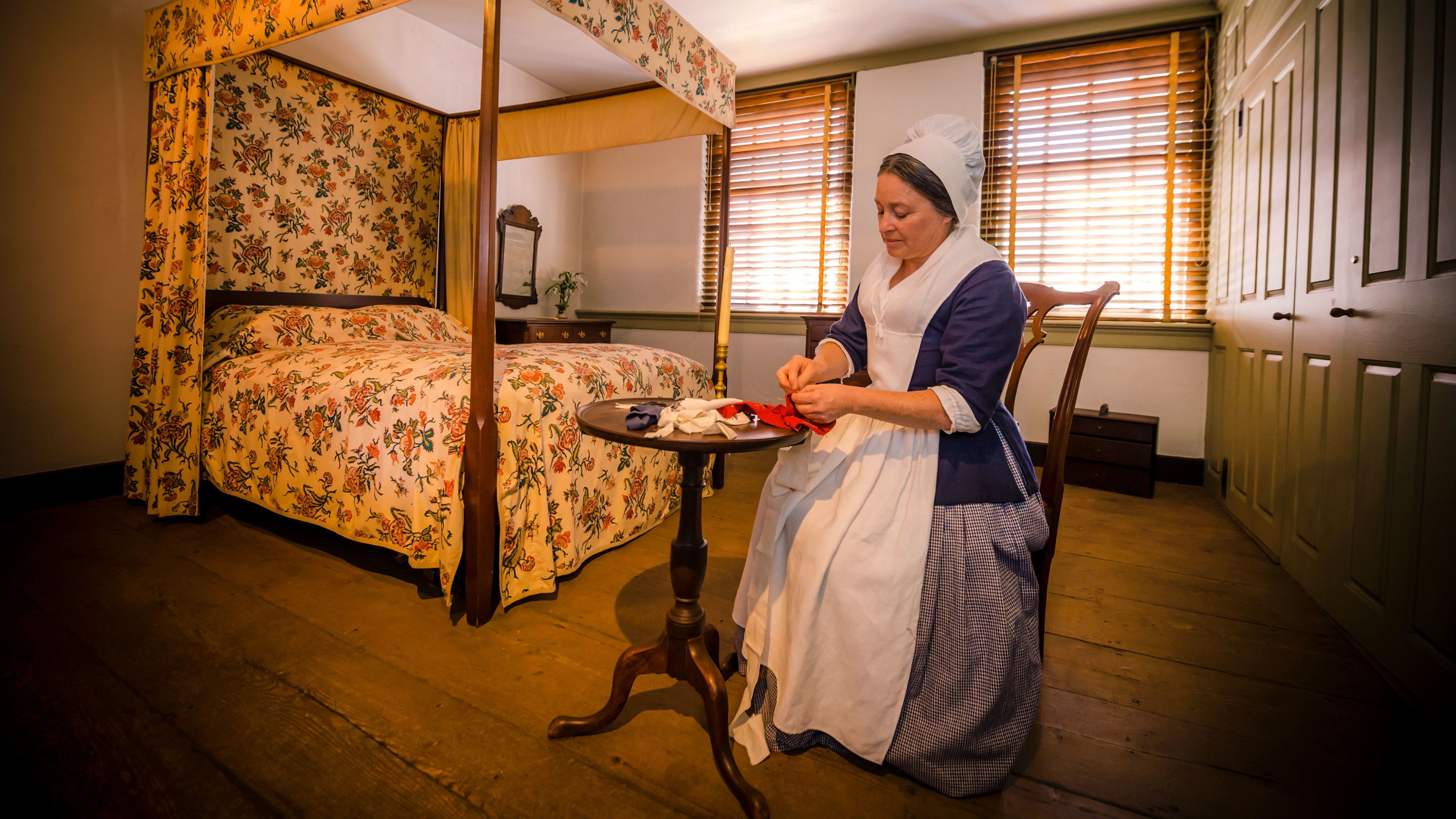 Self-Guided Tour of the Betsy Ross House
