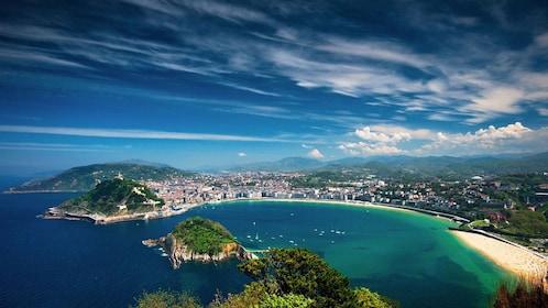 Bay in San Sebastian