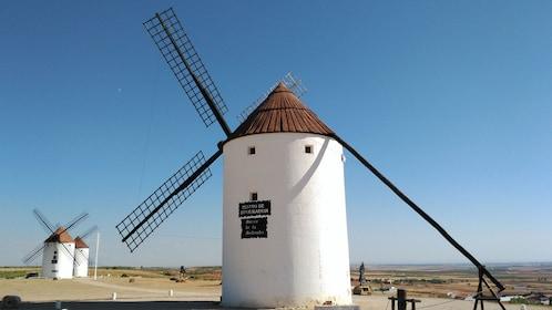 Mota del Cuervo Windmills in Madrid