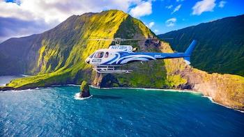 Tour in elicottero di Molokai e delle West Maui Mountains