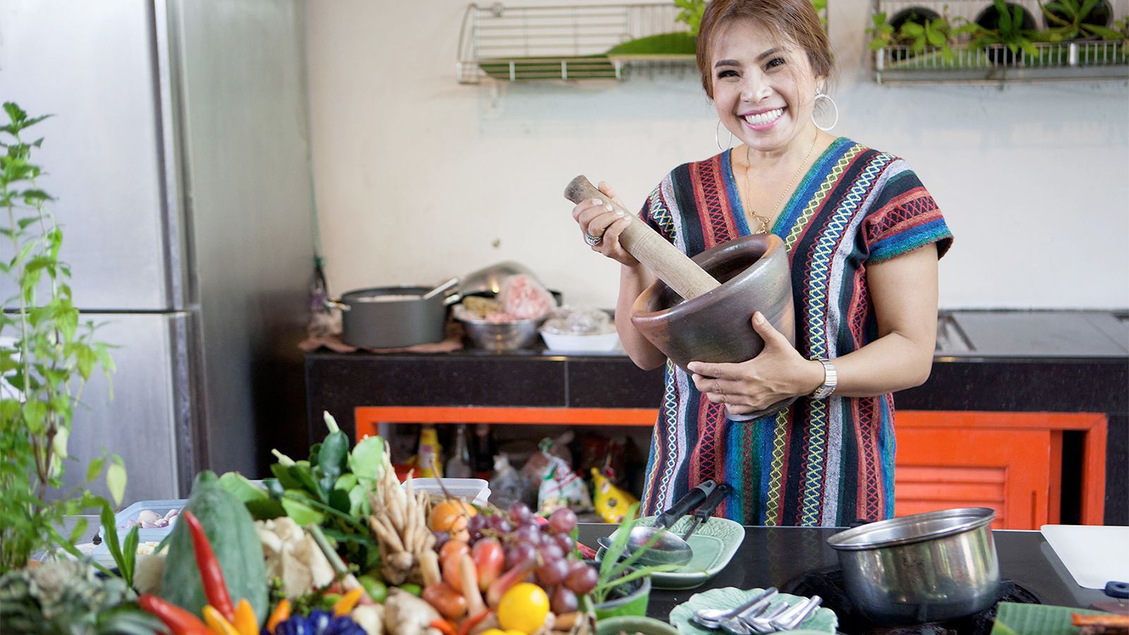 Thai cooking class in Bangkok