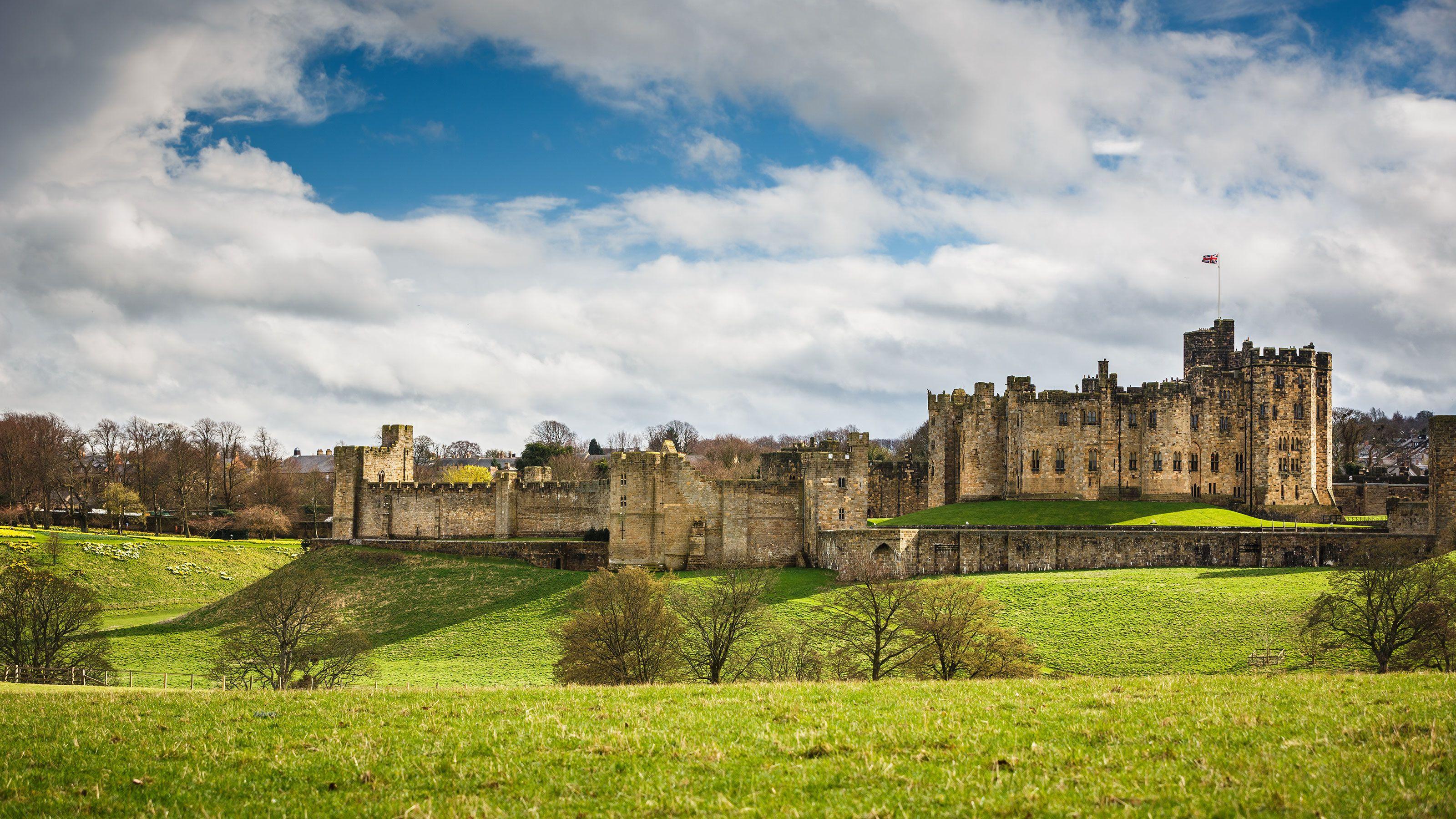 Alnwick Castle in Scotland