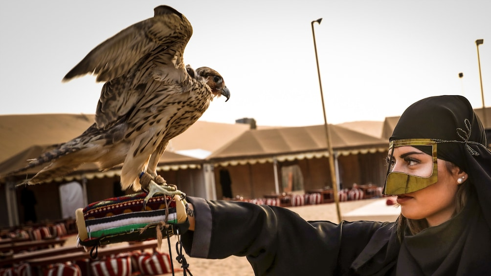 Premium Red Dunes & Camel Safari with BBQ at Al Khayma Camp