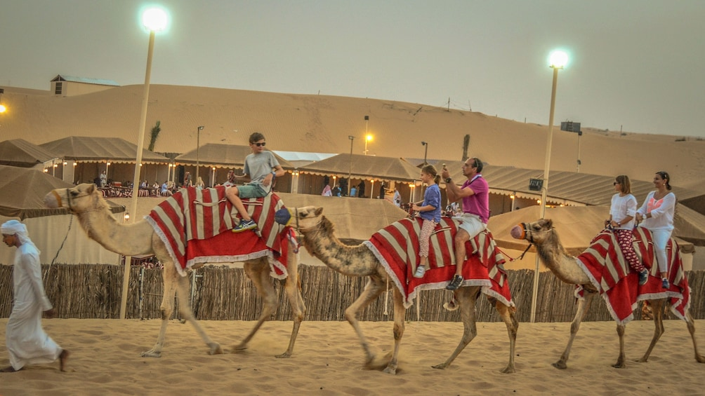 Show item 3 of 10. Premium Red Dunes & Camel Safari with BBQ at Al Khayma Camp