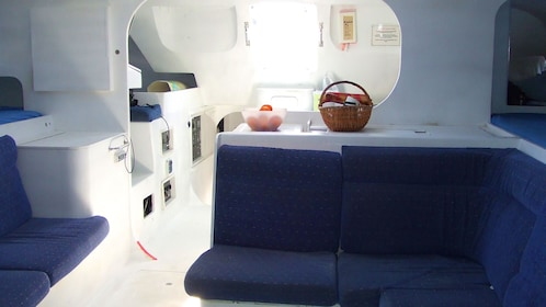 Galley in a Sailboat