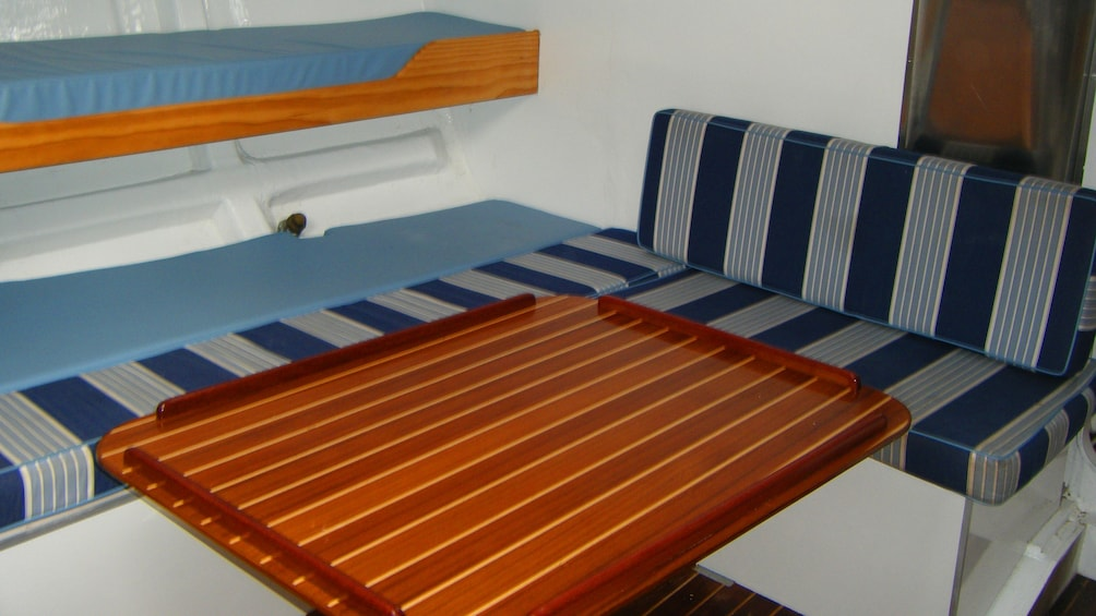 Show item 5 of 5. Galley in a Sailboat