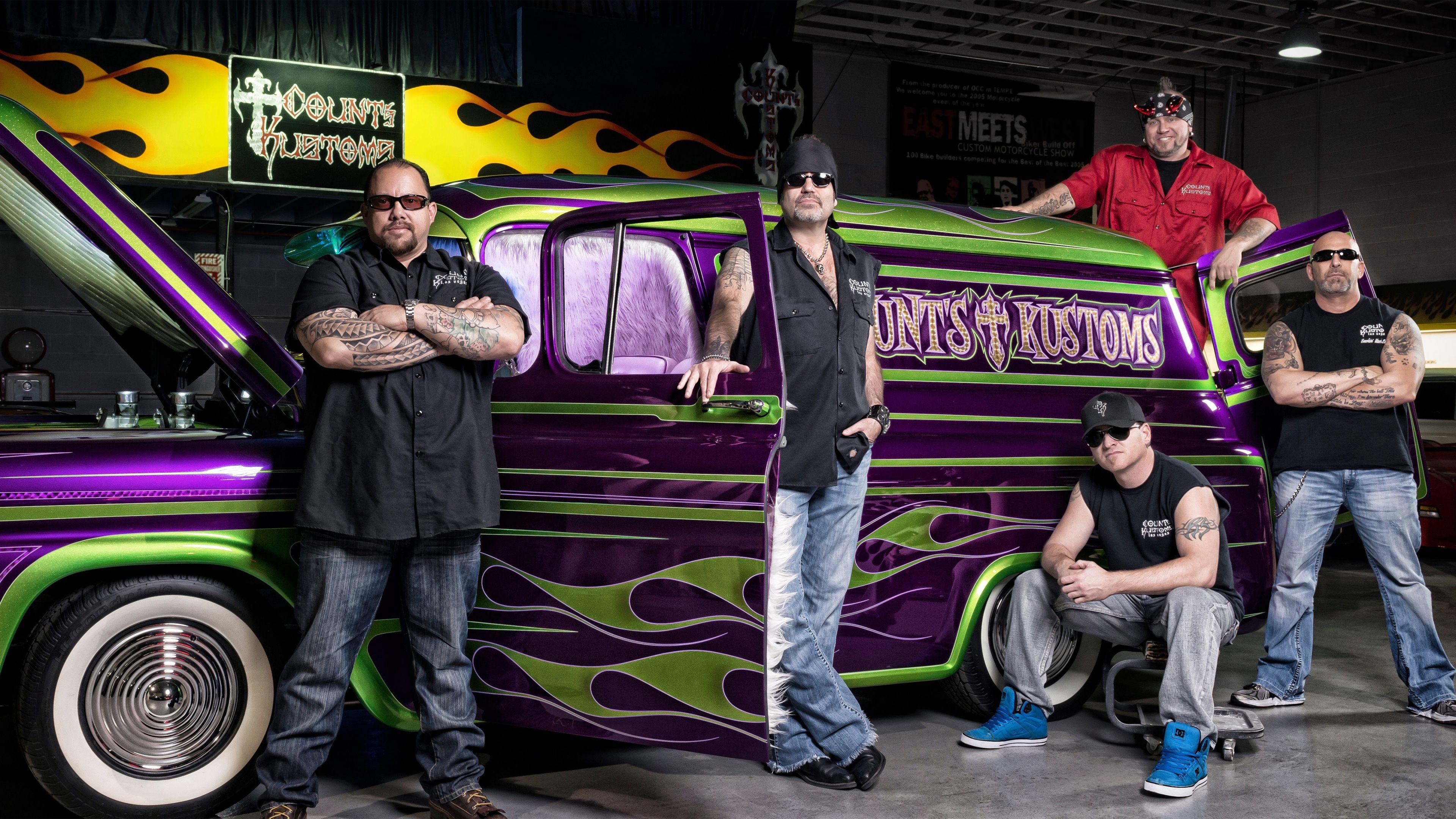 Crew at Counts Kustom Cars in Las Vegas