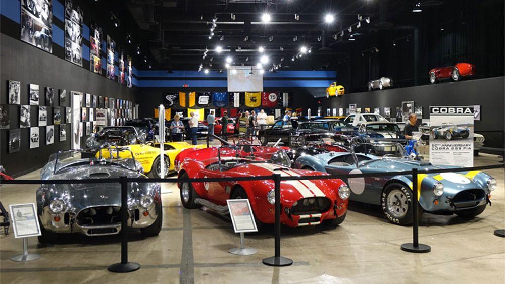 Classic sports cars in Las Vegas