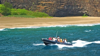 Raft Adventure Napali Nu'Alolo Kai Beach Landing