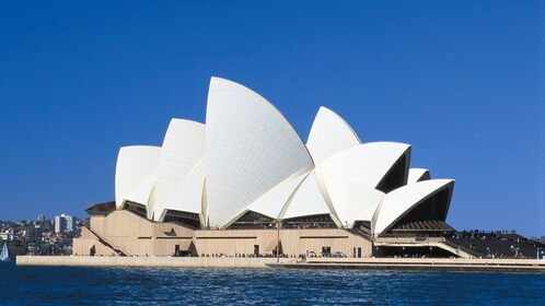 Close view of the Sydney Opera House in Sydney Australia during the day