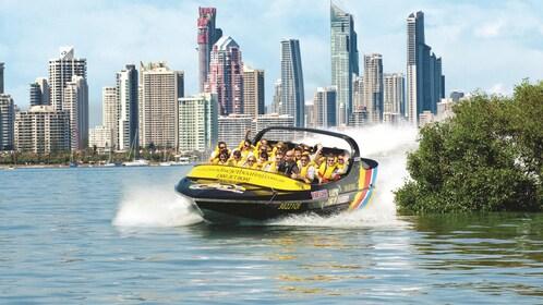 thrilling jet boat ride in Australia