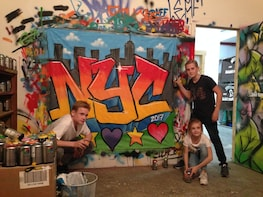 Brooklyn Group Graffiti Workshop