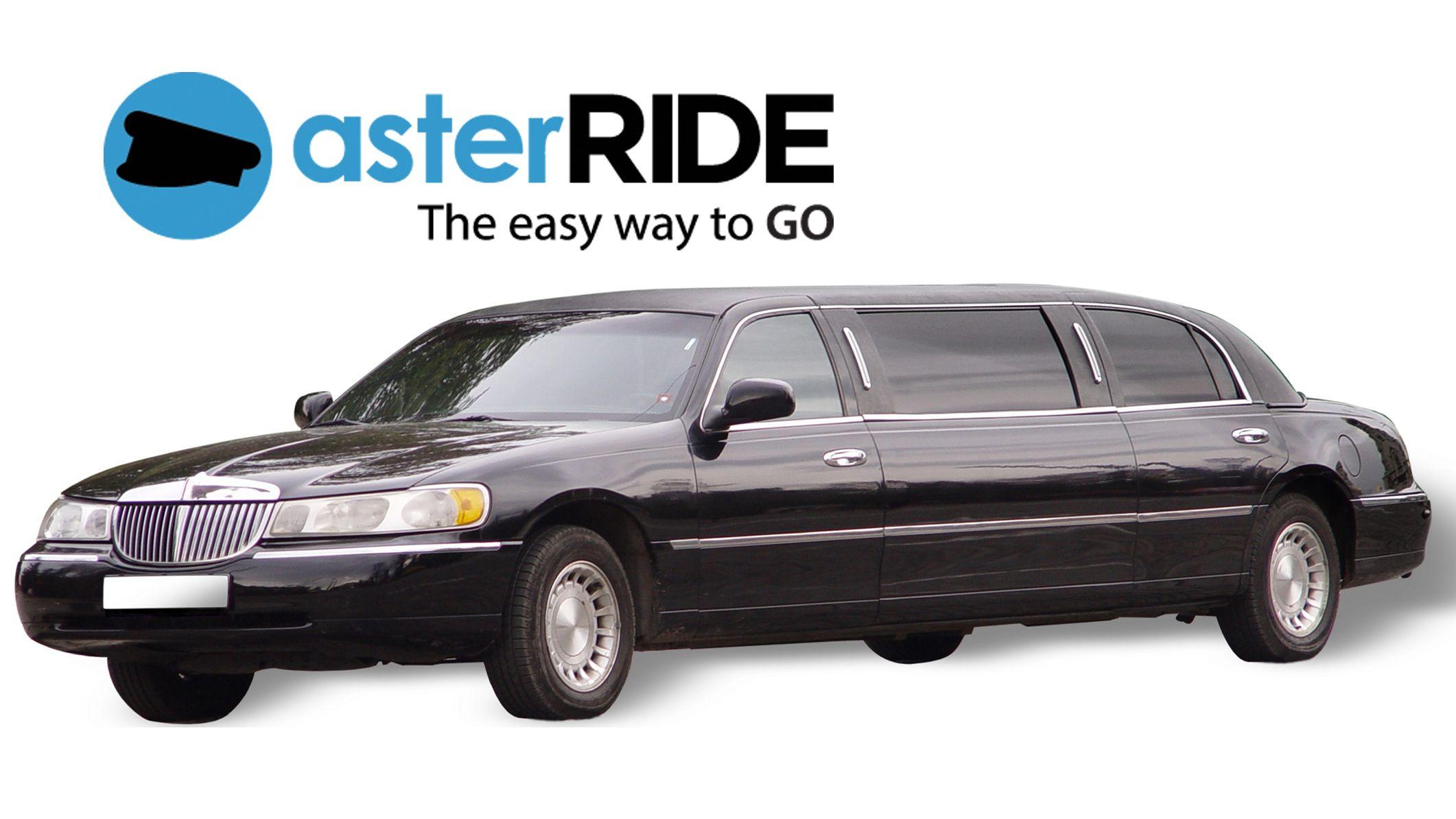 Trasferimento su una lussuosa limousine privata