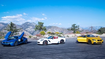 Guided Luxury Sports Car Tour of Angeles National Forest
