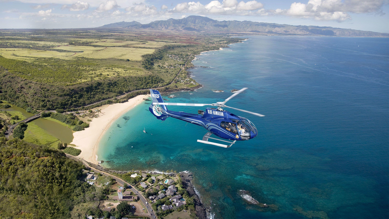 飞机、直升机和气球观光