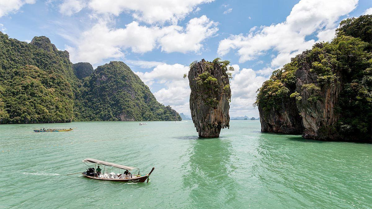 Naka Island cruise in Thailand