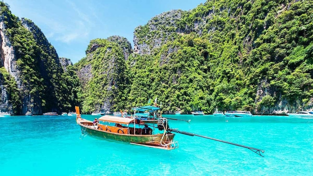 Show item 1 of 5. Phi Phi Island & Bamboo Island by Speedboat