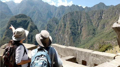 Group on the Machu Picchu tour