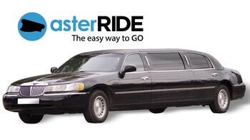 Privat transport med luksuriøs limousin