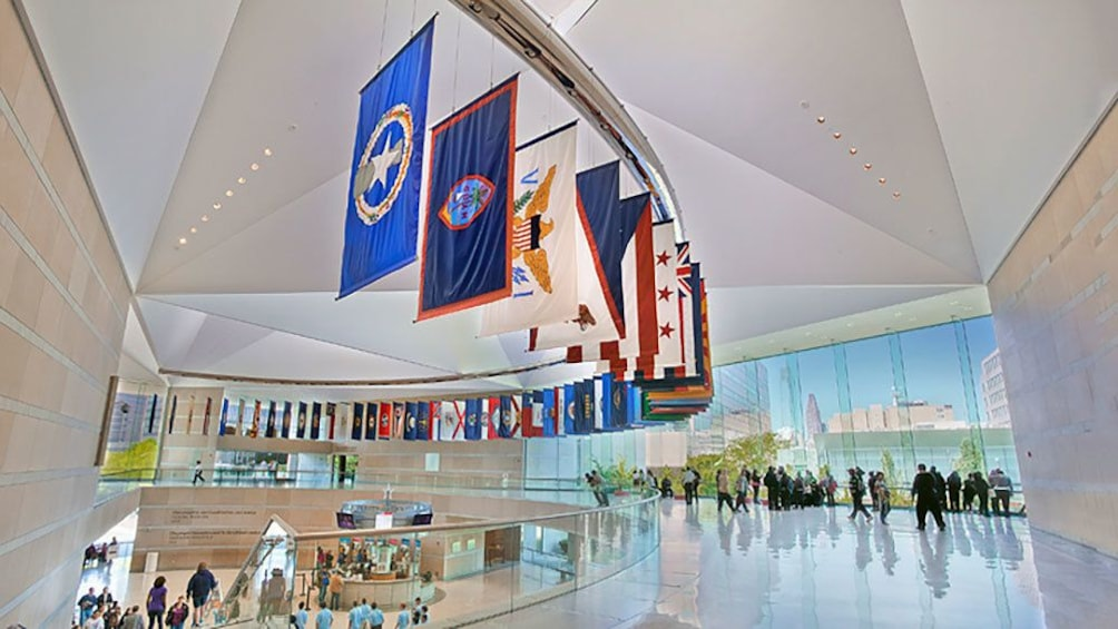 Show item 3 of 10. Interior of the National Constitution Center in Philadelphia