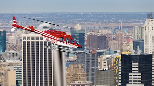 Helicopter tour of Central Park