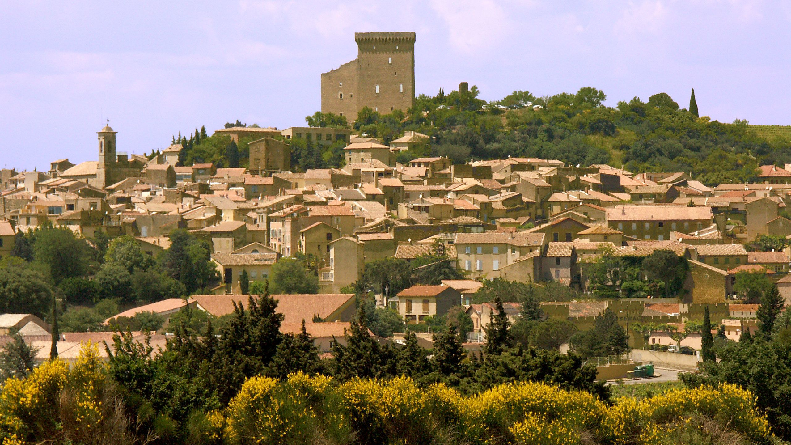 Town in Rhone Valley