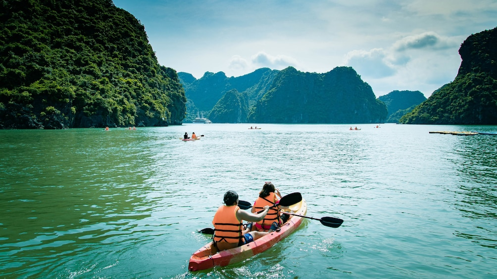 Show item 2 of 10. Full-Day Ha Long Bay Boat Excursion from Hanoi