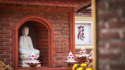 Statue in Tran Quoc Pagoda in Hanoi