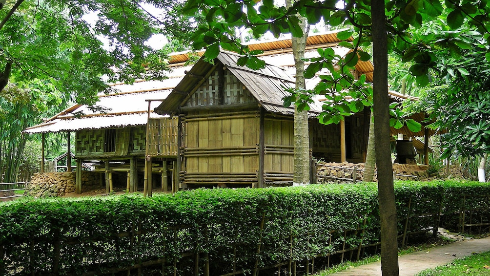Show item 2 of 6. Exterior of museum of Ethnology in Hanoi