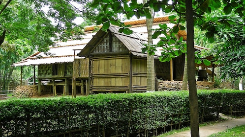 Exterior of museum of Ethnology in Hanoi