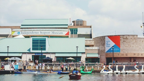 Exterior of Independence Seaport Museum
